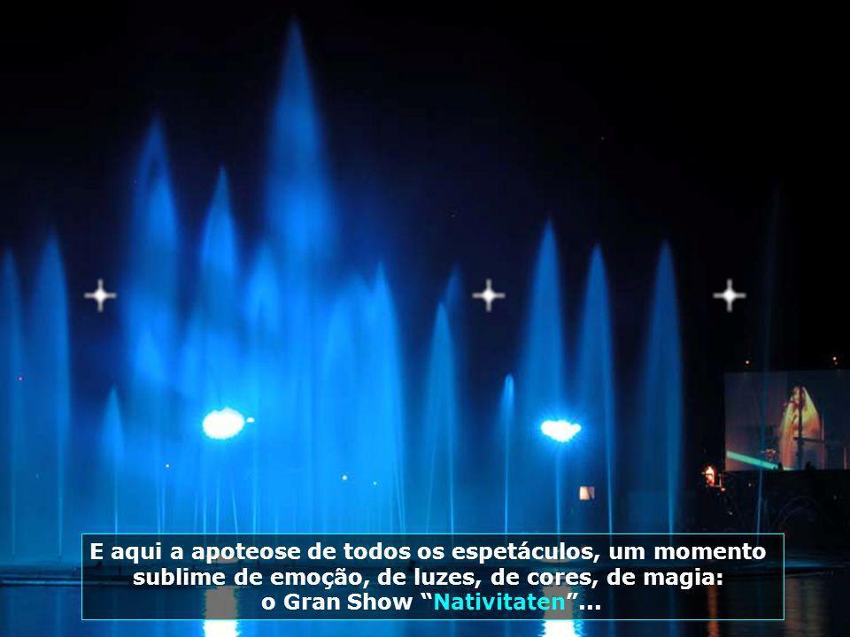 Lago Joaquina Rita Bier, palco do espetáculo mais emocionante já visto por essas terras: Nativitaten