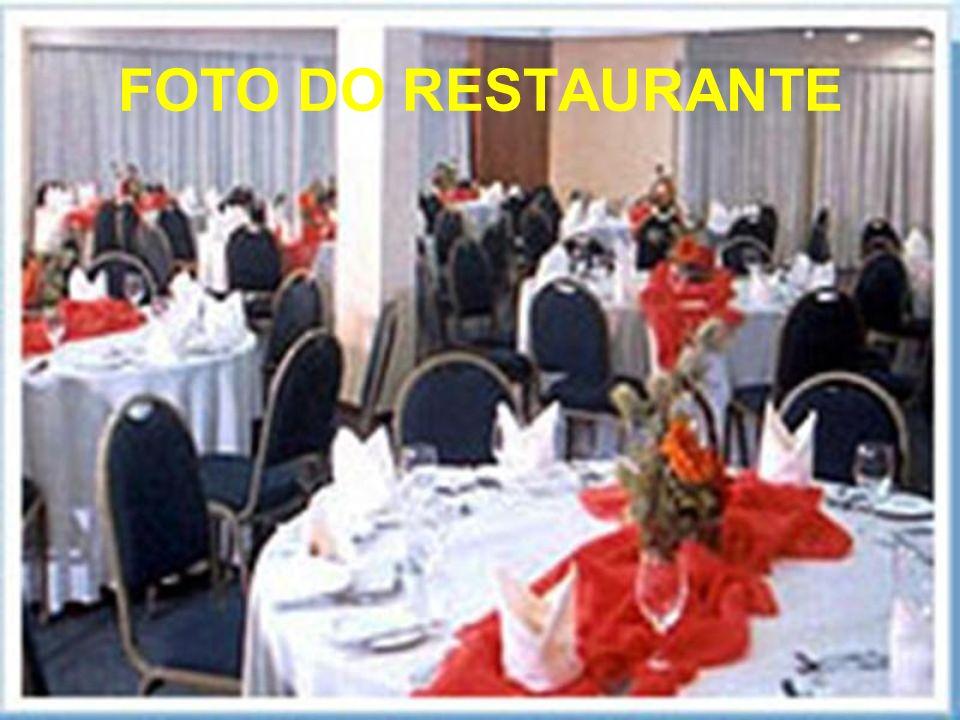 GASTRONOMIA No Restaurante Sete Mares, os hospedes degustam das mais variadas culinárias. Os jantares e shows temáticos são a grande sensação do princ