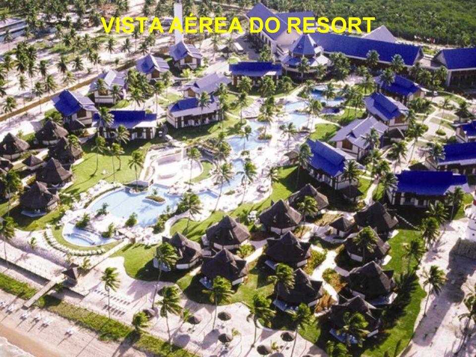Primeiro hotel padrão cinco estrelas de um dos balneários mais badalados do Nordeste brasileiro, o Summerville Beach Resort ocupa uma privilegiada áre