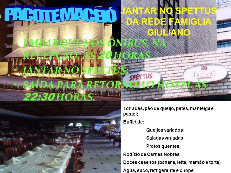 CITY TOUR Mercado do Artesanato Mirante Antigo Palácio do Governo Quem não viu antes, só vai ver a visualização EMBARQUE NOS ÔNIBUS, NA RECEPÇÃO, ÀS 1