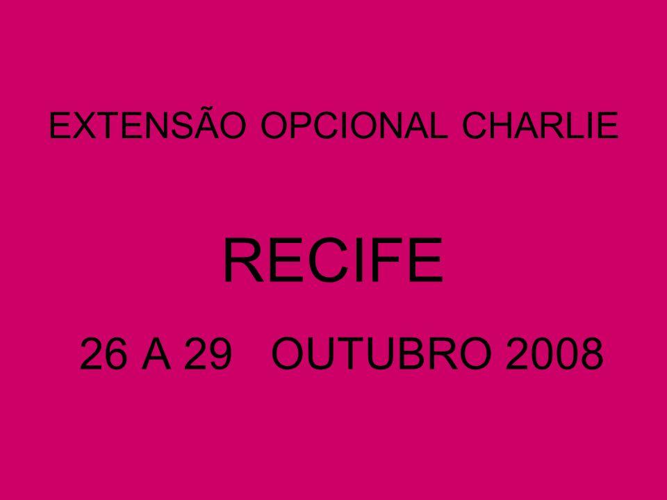 PACOTE EXTENSÃO OPCIONAL BRAVO PORTO DE GALINHAS VALOR MÁXIMO PREVISTO R$ 2.000,00 INSCRIÇÃO - R$ 500,00 MAIS DIGITO GERAL( CASO NÃO TENHA FEITO A INSCRIÇÃO PARA MACEIÓ OU RECIFE); PARCELAS – DIVIDINDO -SE O SALDO RESTANTE DE R$ 1.500,00 ( CASO A INSCRIÇÃO SEJA FEITA EM FEVEREIRO) PELOS MESES RESTANTES ( OITO, A PARTIR DE MARÇO) CHEGANDO-SE AO VALOR MÁXIMO DE R$ 187,50 ( MAIS O NOVO DIGITO) PARA QUEM JÁ SE INSCREVEU NO PACOTE MACEIÓ ACRESCER AS PARCELAS MENSAIS A PARCELA REFERENTE A P.
