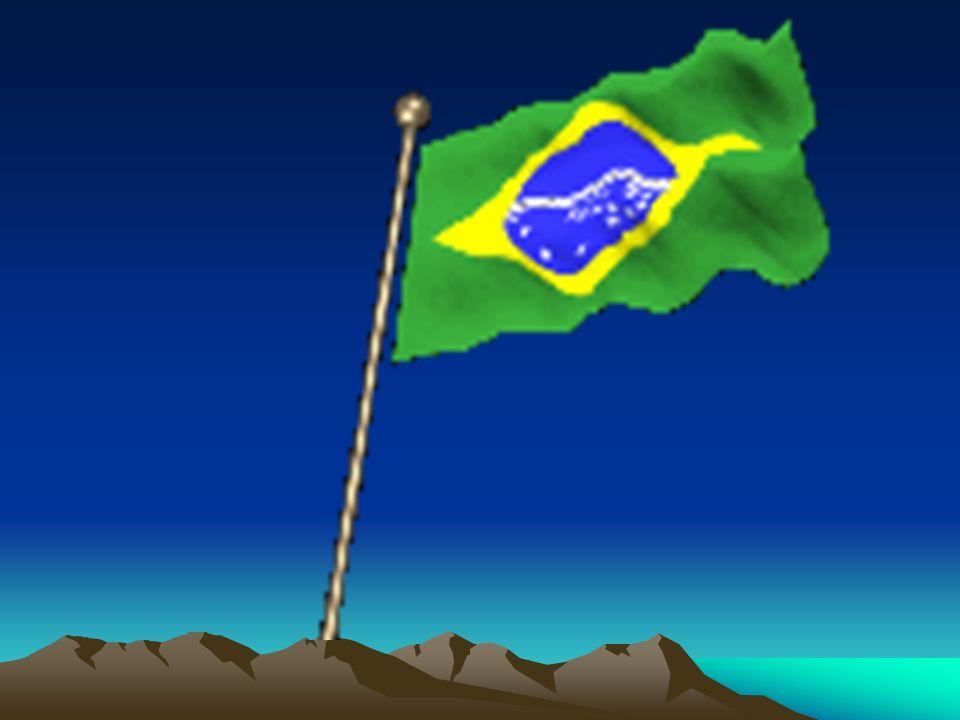 Entre outras mil, És tu, Brasil, Ó Pátria amada! Dos filhos deste solo és mãe gentil, Pátria amada, Brasil!