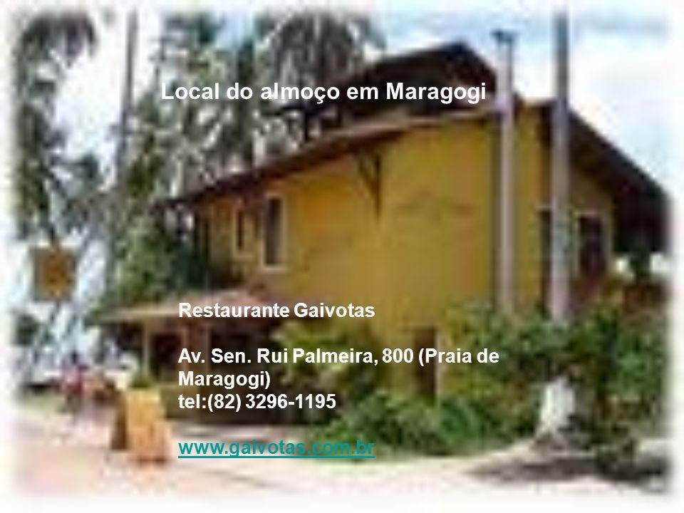 PRAIA DE MARAGOGI No começo de sua história, quando era povoado, chamava-se