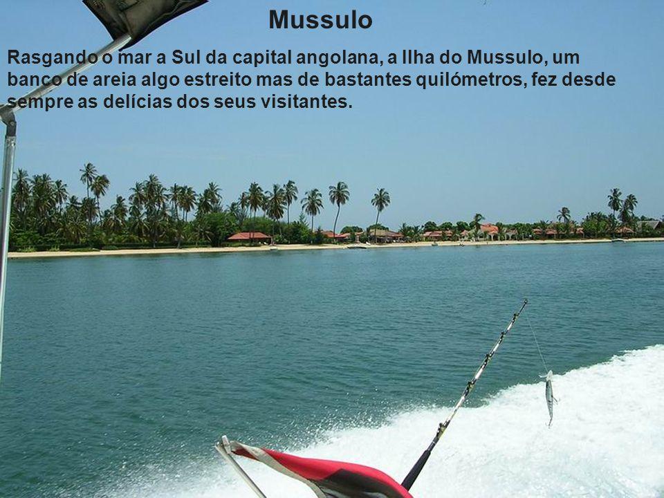 Cais de embarque para o Mussulo
