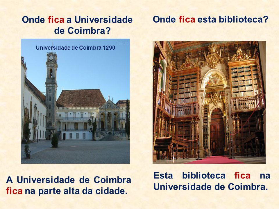 1.Ficar no sentido de onde está situado (em inglês to be e em francês être). Onde fica o Museu da Língua Portuguesa? O Museu da Língua Portuguesa fica