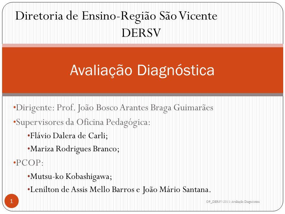DERSV-2011 Público Alvo: Diretores das escolas envolvidas (14).
