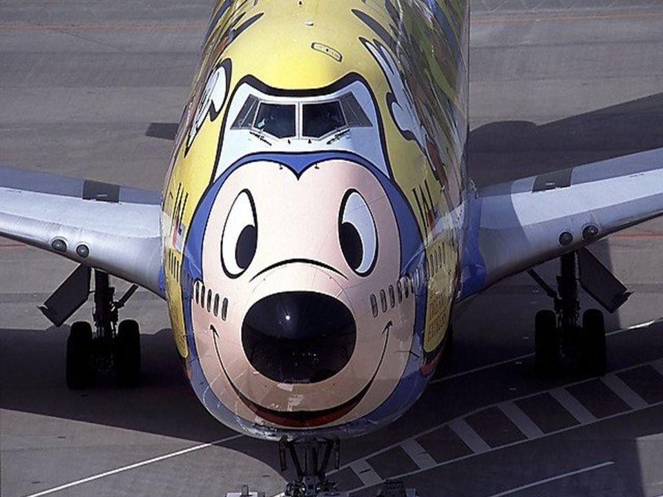 Rato Mickey ou avião?