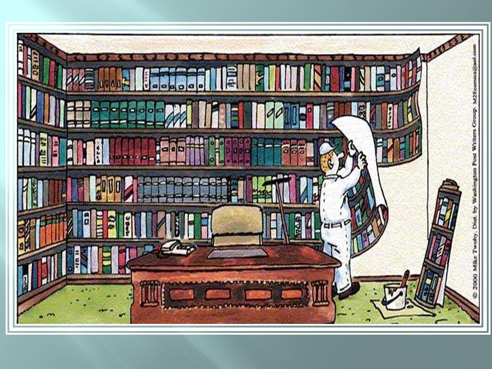 Biblioteca ou papel de parede?