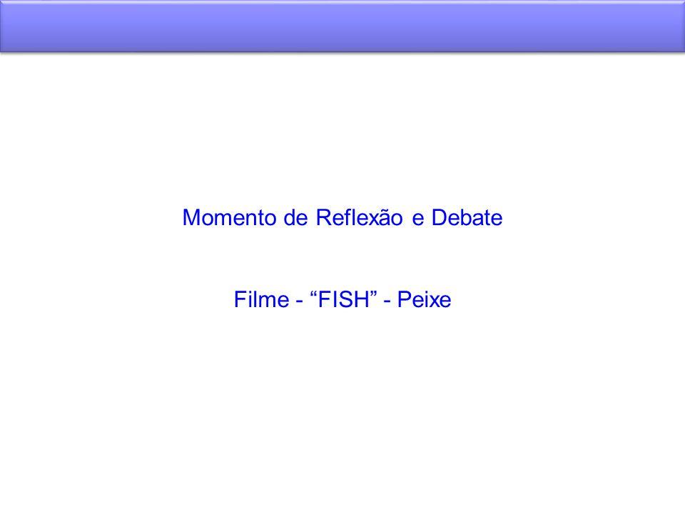 Momento de Reflexão e Debate Filme - FISH - Peixe