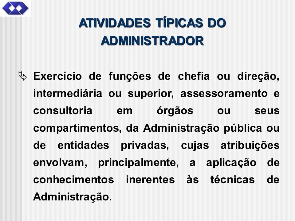 Exercício de funções de chefia ou direção, intermediária ou superior, assessoramento e consultoria em órgãos ou seus compartimentos, da Administração