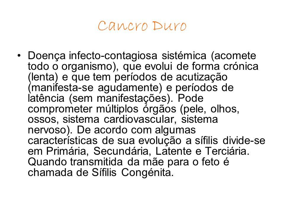 Sinónimos: Cancro duro, cancro sifilítico, Lues.