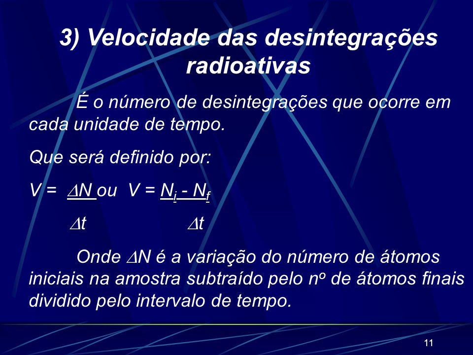 10 2.3. Radiação As radiações não são partículas, mas sim ondas eletromagnéticas emitidas pelo núcleo imediatamente após a saída de partículas ou.Como