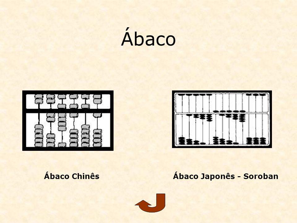 Ábaco Ábaco ChinêsÁbaco Japonês - Soroban