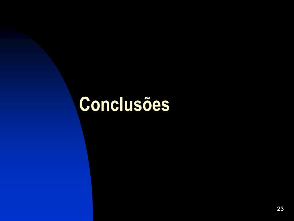 23 Conclusões