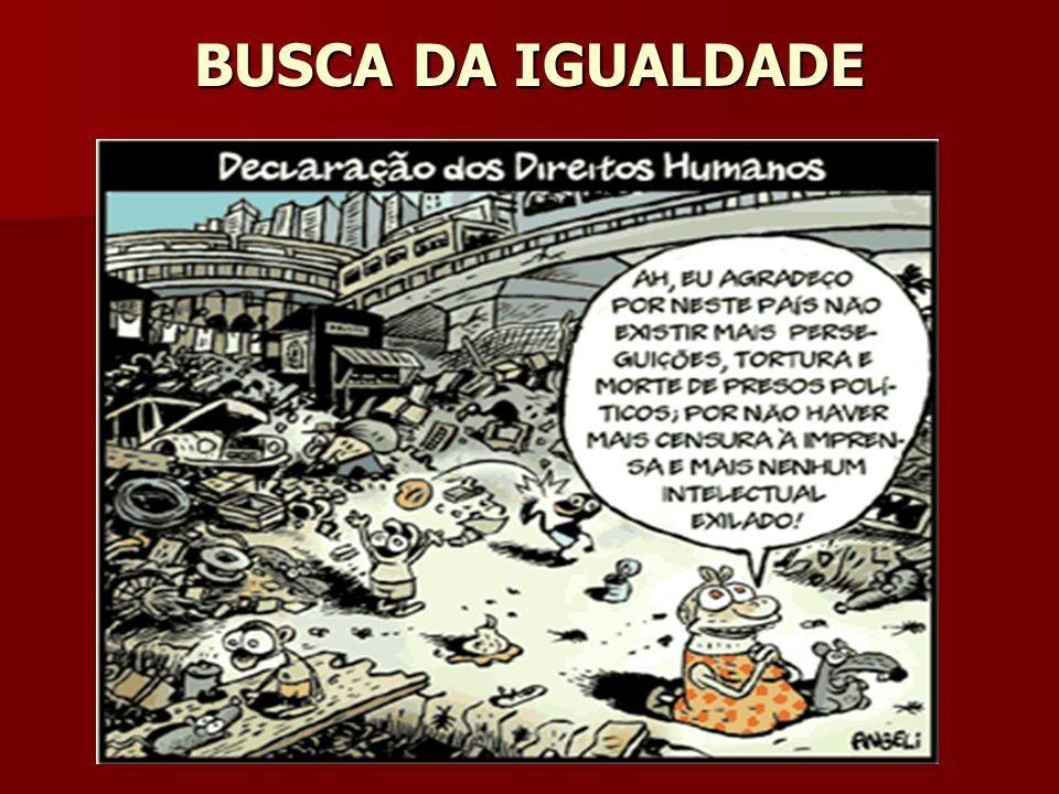 BUSCA DA IGUALDADE