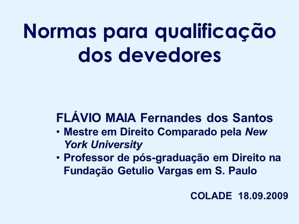 Sumário I – Classificação no Brasil: Res.