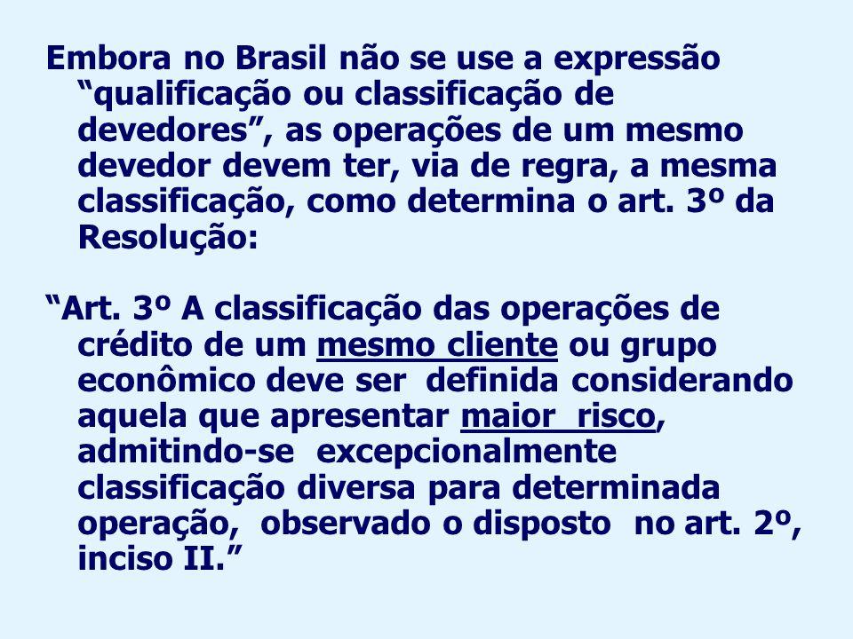 3ª parte da Res.: revisão da classificação Art.