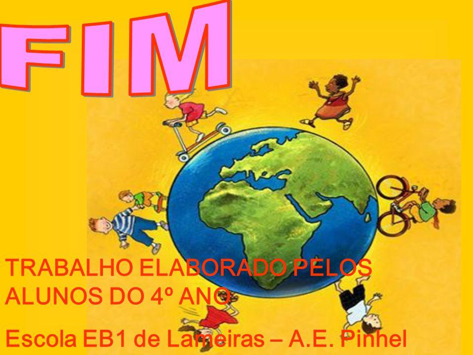 TRABALHO ELABORADO PELOS ALUNOS DO 4º ANO Escola EB1 de Lameiras – A.E. Pinhel