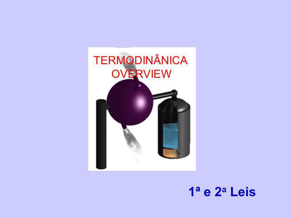 Termodinâmica é a ciência que trata do calor e do trabalho das características dos sistemas e das propriedades dos fluidos termodinâmicos