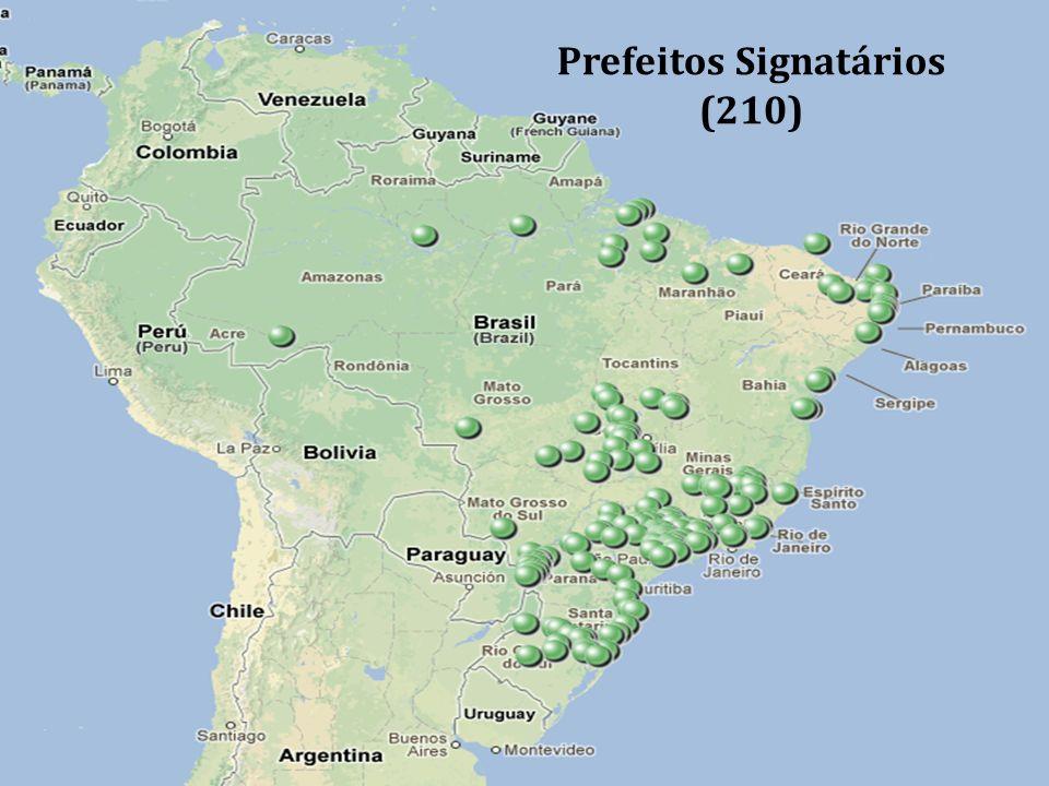 Prefeitos Signatários (210)