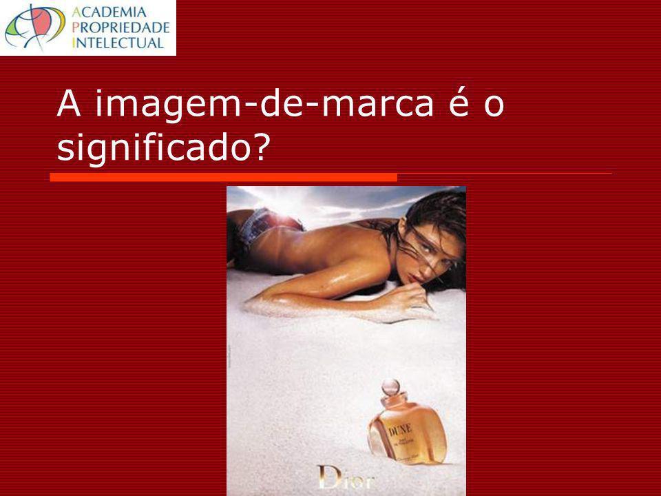 A imagem-de-marca é o significado?