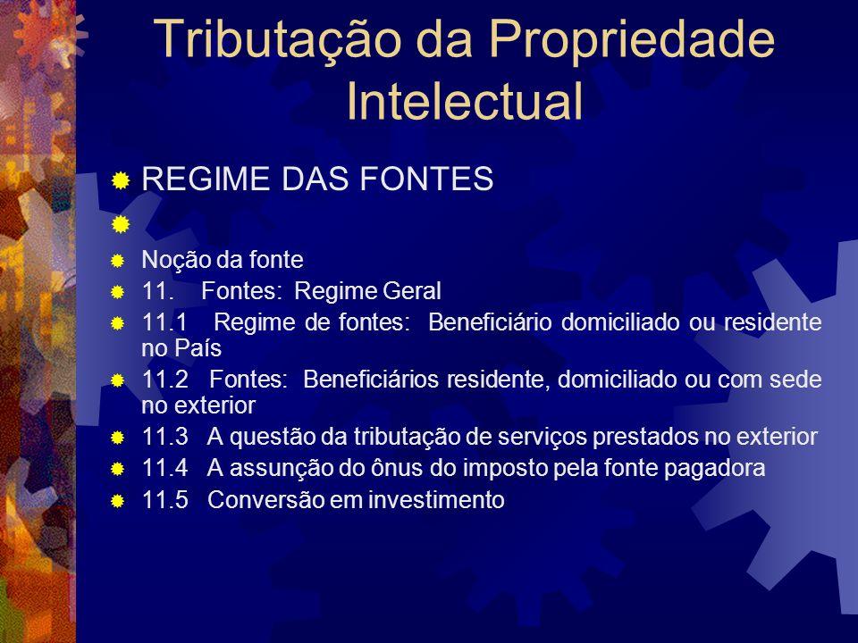 PUC/RIO Propriedade Intelectual Tributação da Propriedade Intelectual Denis Borges Barbosa