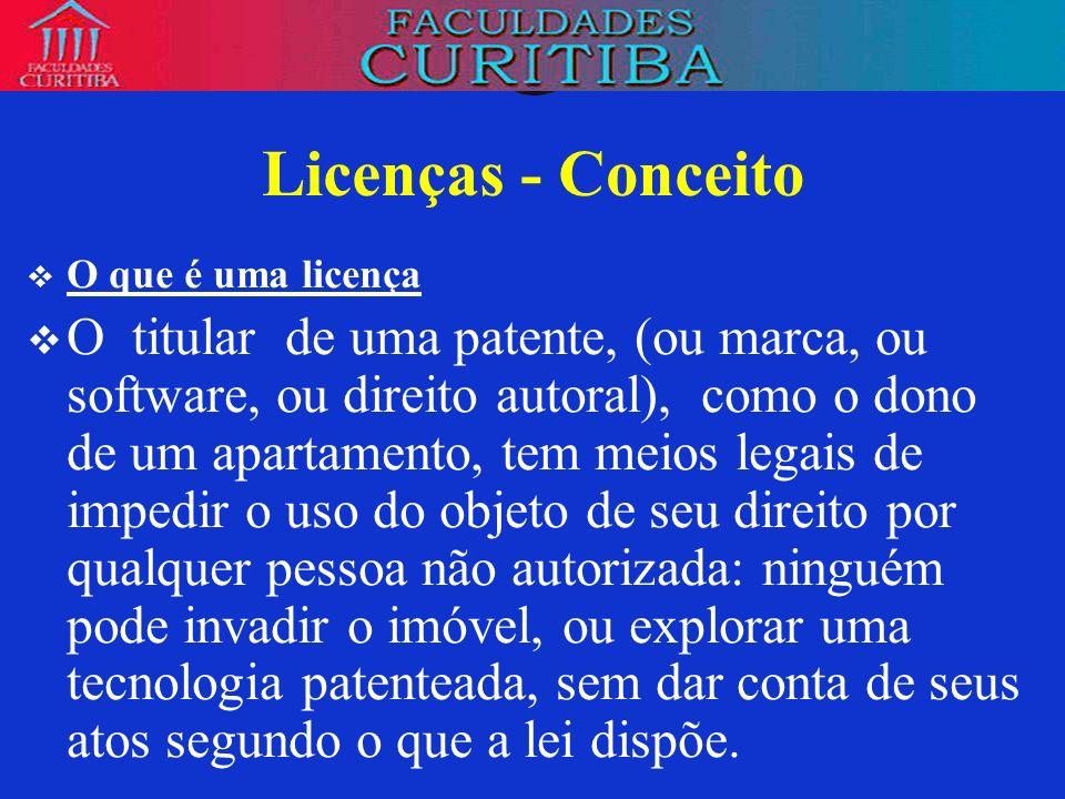 Licenças e direito comum Ou a regra do art.