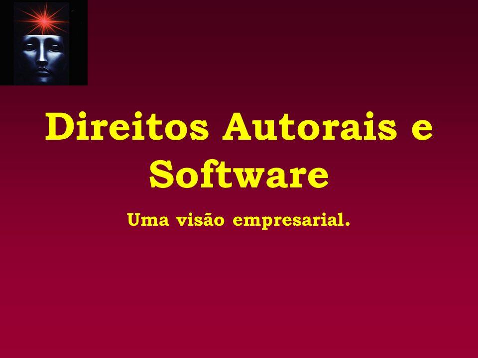 Direitos Autorais e Software Uma visão empresarial.