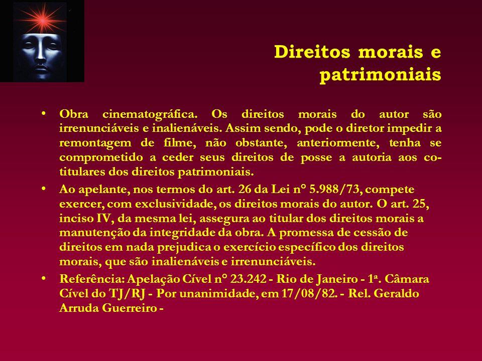 A autoria e a titularidade dos direitos.Art. 11.