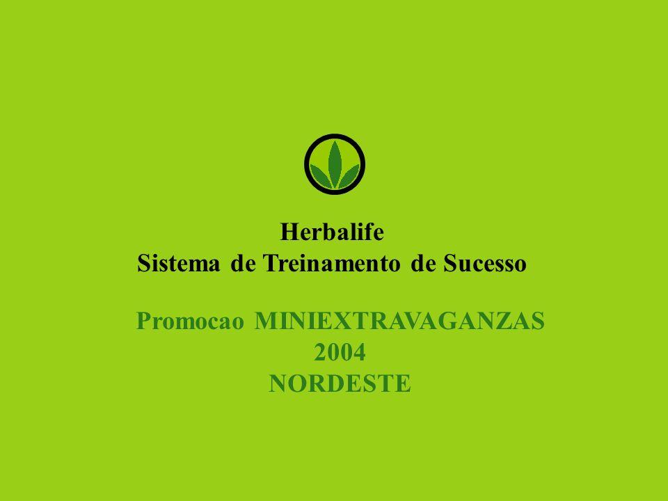 Herbalife Sistema de Treinamento de Sucesso Promocao MINIEXTRAVAGANZAS 2004 NORDESTE