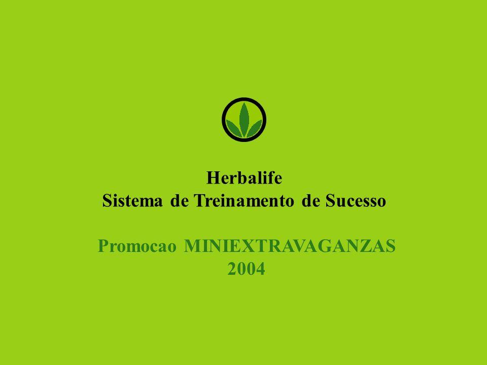 Herbalife Sistema de Treinamento de Sucesso Promocao MINIEXTRAVAGANZAS 2004