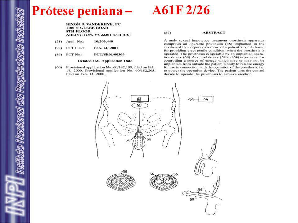 Pr ó tese peniana – A61F 2/26
