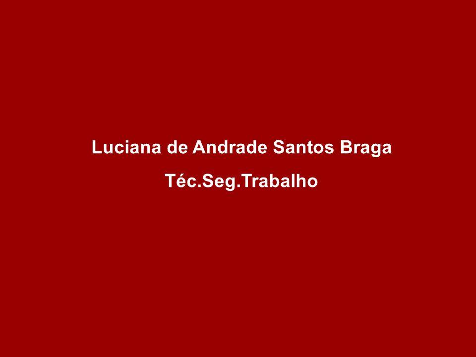 Luciana de Andrade Santos Braga Téc.Seg.Trabalho
