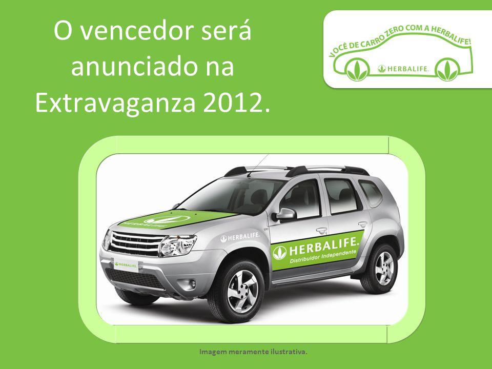 O vencedor será anunciado na Extravaganza 2012. Imagem meramente ilustrativa.