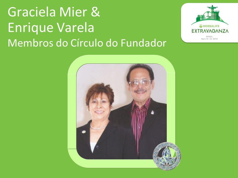 Graciela Mier & Enrique Varela Membros do Círculo do Fundador