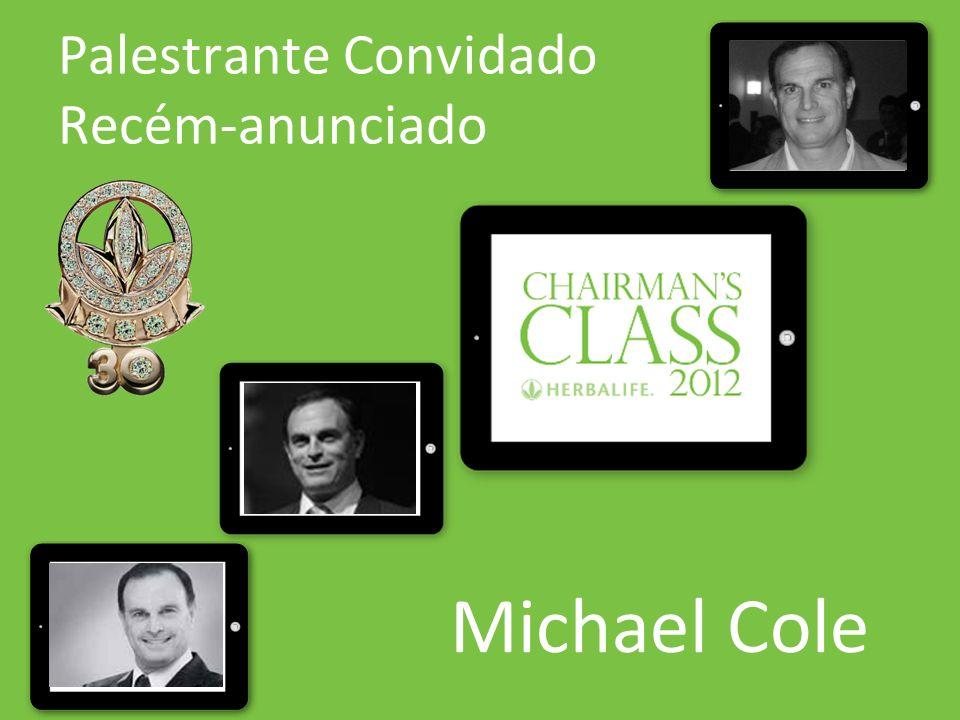 Palestrante Convidado Recém-anunciado Michael Cole