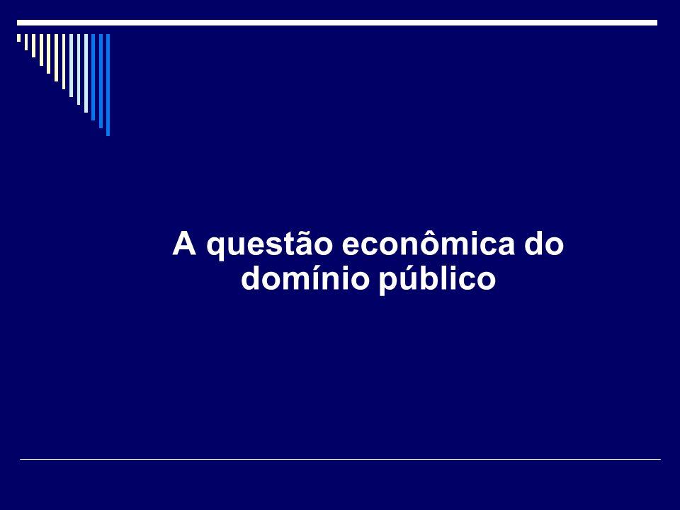 Os problemas do domínio público e do patrimônio cultural Direitos ao resultado da criação v.