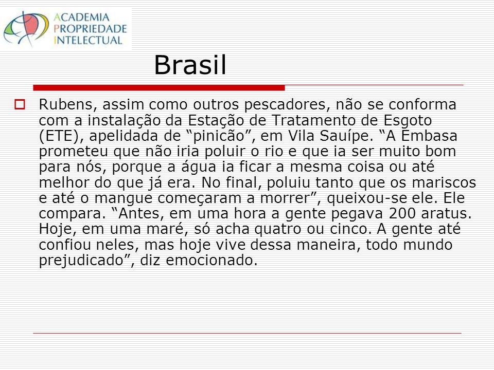 Brasil Rubens, assim como outros pescadores, não se conforma com a instalação da Estação de Tratamento de Esgoto (ETE), apelidada de pinicão, em Vila Sauípe.