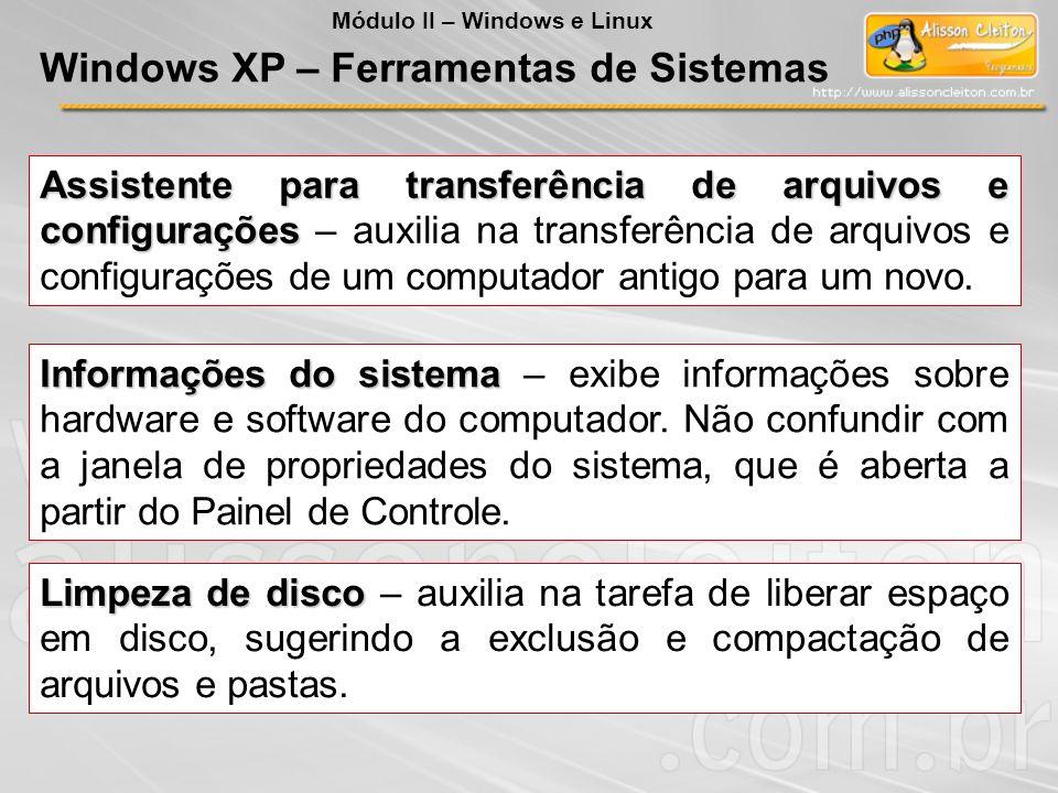 Assistente para transferência de arquivos e configurações Assistente para transferência de arquivos e configurações – auxilia na transferência de arqu