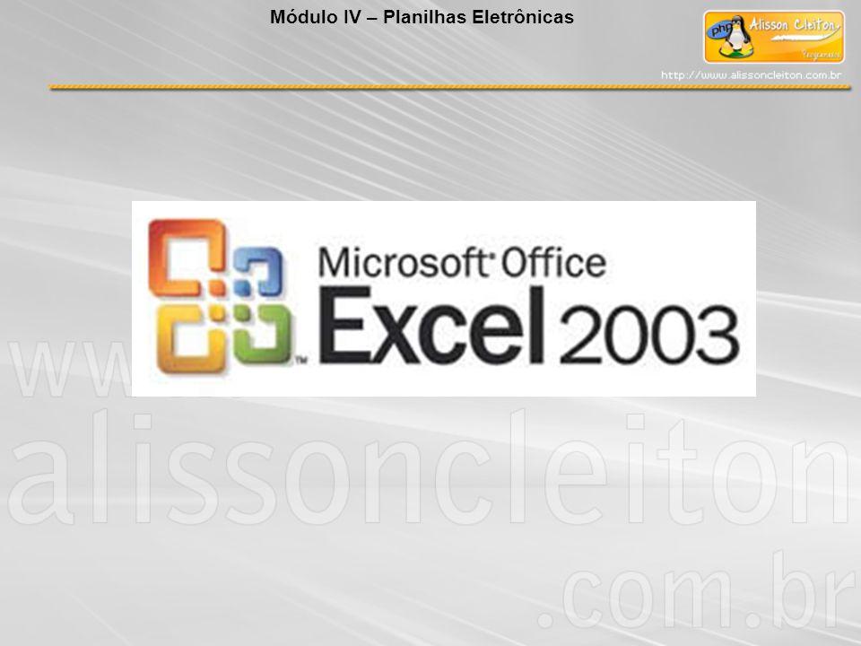 O que é o Microsoft Excel 2003 O Microsoft Excel é um programa gerenciador de planilhas eletrônicas de cálculos.