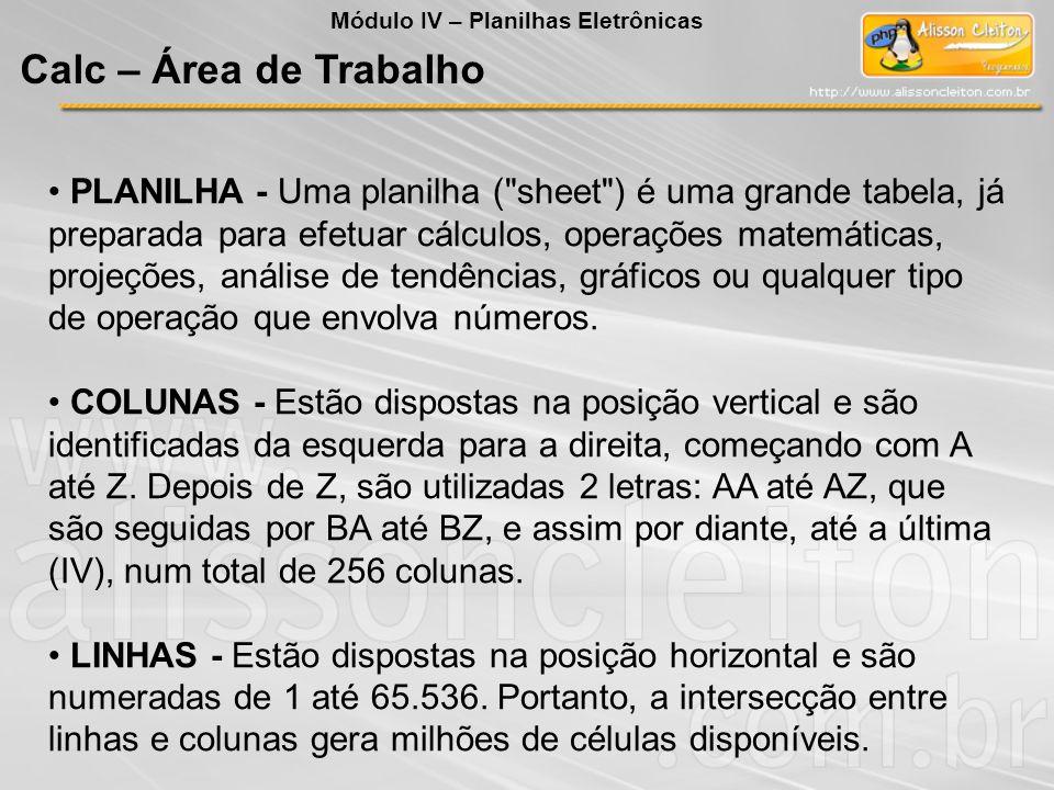 PLANILHA - Uma planilha (