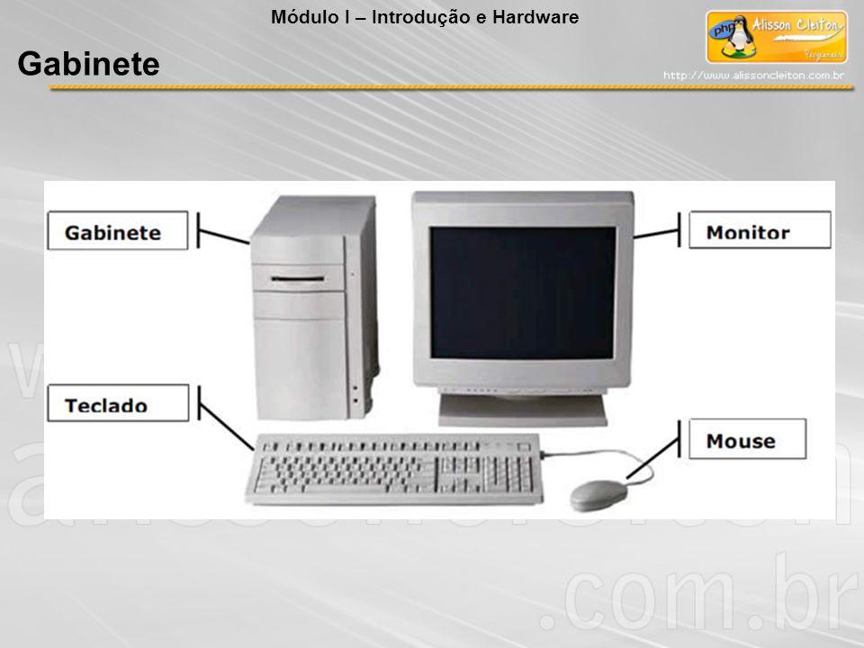 Módulo I – Introdução e Hardware Gabinete
