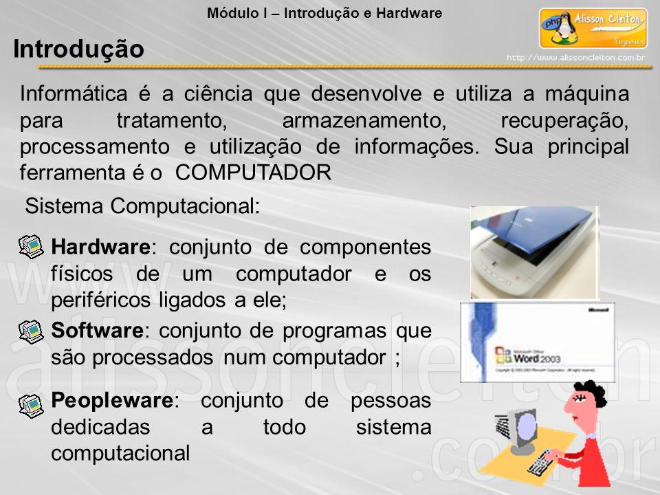 Informática é a ciência que desenvolve e utiliza a máquina para tratamento, armazenamento, recuperação, processamento e utilização de informações. Sua