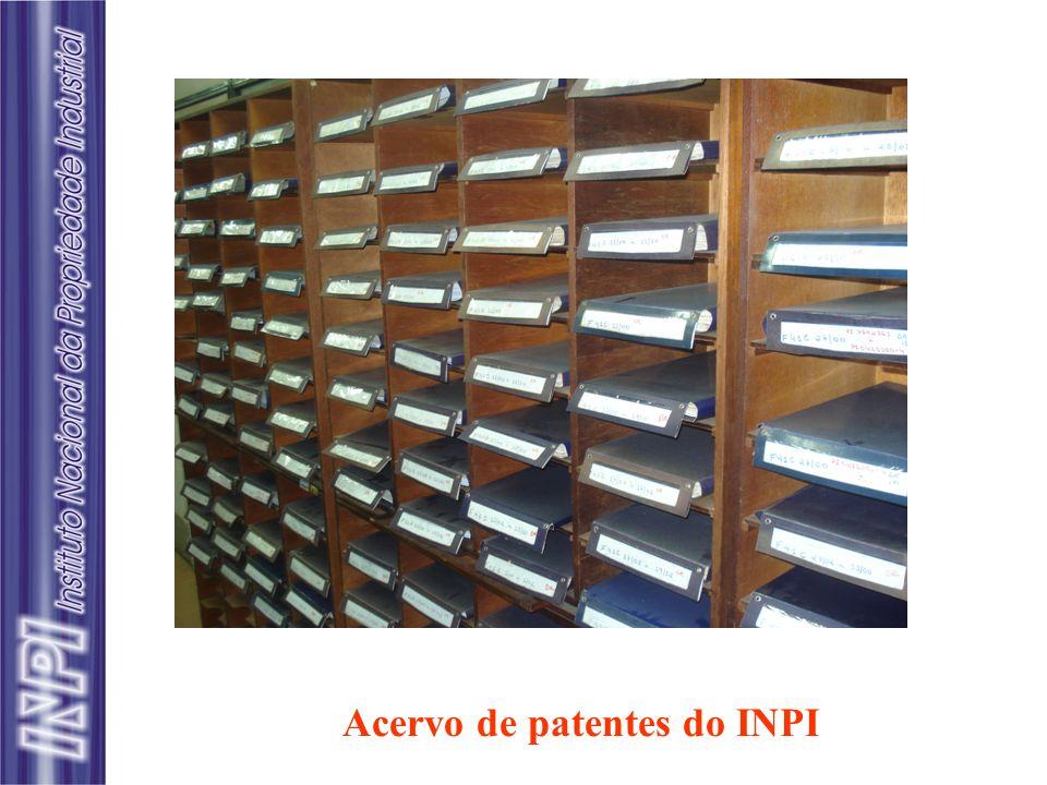 Acervo de patentes do INPI