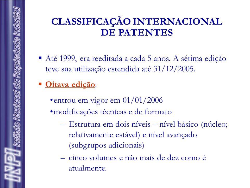 Até 1999, era reeditada a cada 5 anos. A sétima edição teve sua utilização estendida até 31/12/2005. Oitava edição: entrou em vigor em 01/01/2006 modi