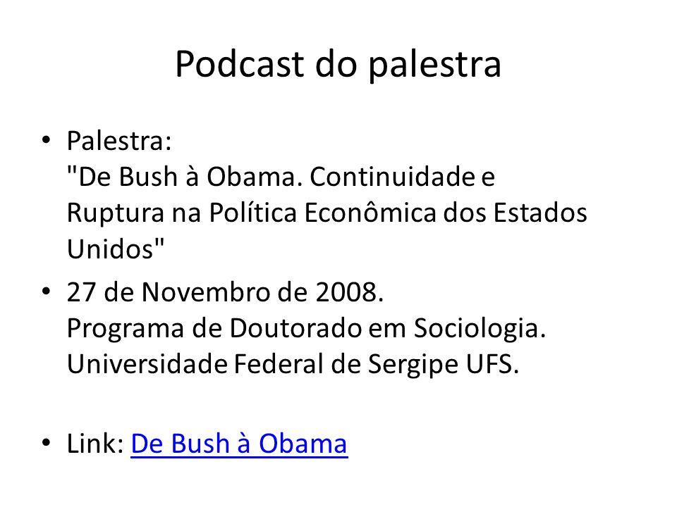 Podcast do palestra Palestra: