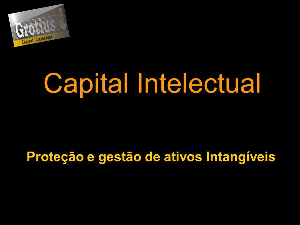 Capital Intelectual Proteção e gestão de ativos Intangíveis