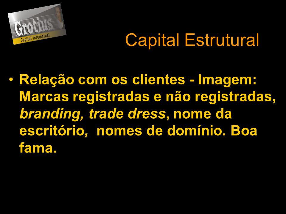 Capital Estrutural Relação com os clientes - Imagem: Marcas registradas e não registradas, branding, trade dress, nome da escritório, nomes de domínio