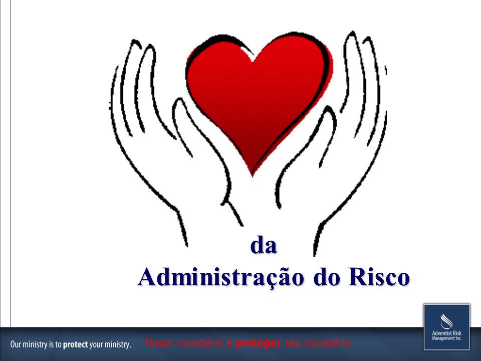 da Administração do Risco Administração do Risco Nosso ministério é proteger seu ministério