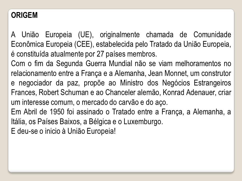 Crise na União européia No plano econômico mundial, o ano de 2012 foi marcado pela crise econômica na União Européia.
